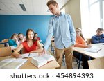 education  bullying  conflict ... | Shutterstock . vector #454894393