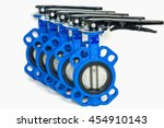 Butterfly Valves Isolated On...