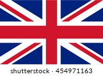 flag of united kingdom | Shutterstock .eps vector #454971163