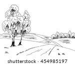 Birch Tree Road Graphic Art...