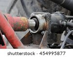 hydraulic drive of the  system... | Shutterstock . vector #454995877