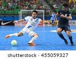 Small photo of BANGKOK THAILAND-JULY15:Nuttavut Madyalan of Chonburi Bluewave in action during AFC FUTSAL CLUB CHAMPIONSHIP 2016 Match Chonburi Bluewave and Vic Vipers FC at Bangkok Arena Stadium on July15,2016