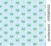 palm trees pattern. vector...   Shutterstock .eps vector #455089333