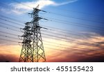 High Voltage Transmission Towe...