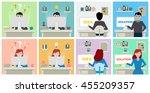 idea and solution development... | Shutterstock . vector #455209357