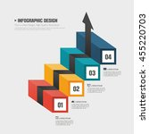 info graphic design illustration | Shutterstock .eps vector #455220703