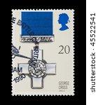british   circa 1990  a stamp... | Shutterstock . vector #45522541