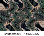 colorful psychedelic background ... | Shutterstock . vector #455330227