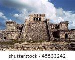 Tulum Mayan Ruins Located In...
