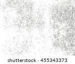 distressed overlay texture of... | Shutterstock .eps vector #455343373