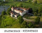 Countryside Aerial View On Old...
