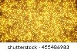 gold glitter dots. computer... | Shutterstock . vector #455486983