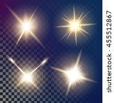 creative concept vector glow...