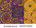 Quilt Block Patterns In Public Domain : Patchwork Quilt Fabric Background Free Stock Photo - Public Domain Pictures