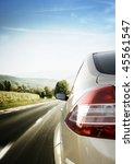 car detail   back side  half....   Shutterstock . vector #45561547