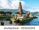 pura ulun danu bratan  hindu... | Shutterstock . vector #455631043