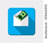 some dollar bills in open ...   Shutterstock .eps vector #455642593