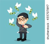 boss don't have any money | Shutterstock .eps vector #455707897