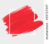 art abstract background brush...   Shutterstock .eps vector #455727547