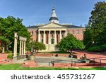 maryland state capital building ... | Shutterstock . vector #455731267
