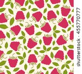 seamless pattern with juicy... | Shutterstock .eps vector #455770777
