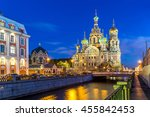 church of the saviour on... | Shutterstock . vector #455842453