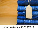 Stack Of Blue Jeans As A...