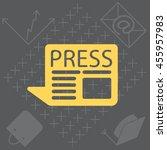 press the icon | Shutterstock .eps vector #455957983