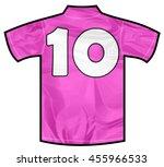 Number 10 Ten Pink Sport Shirt...