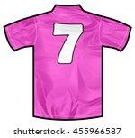Number 7 Seven Pink Sport Shir...