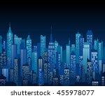 blue high detail vector... | Shutterstock .eps vector #455978077