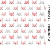 seamless vector pattern with... | Shutterstock .eps vector #456005137