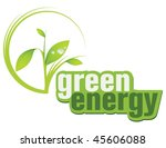green energy | Shutterstock .eps vector #45606088