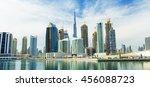 Panorama Of Modern Skyscrapers...