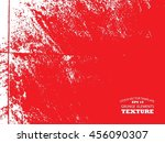 texture concrete wall useful as ... | Shutterstock .eps vector #456090307