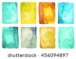 collection of abstract... | Shutterstock . vector #456094897