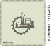 industrial icon | Shutterstock .eps vector #456112453