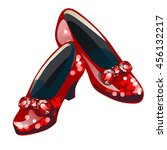 Red Sparkly Shoes With Inserts...