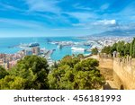 Panoramic View Of The Port Of...