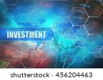 investment title frame.... | Shutterstock . vector #456204463