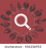 Small photo of Search Information Analysis Online Graphic Concept