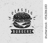 Vector Vintage Fast Food Logo....