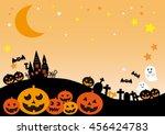 halloween night  jack o lantern | Shutterstock . vector #456424783