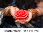 Womans Hands With Bracelets...