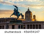 statue of archduke charles   an ... | Shutterstock . vector #456454147