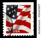 old postage stamp   Shutterstock . vector #456465697
