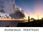 Lighthouse After Sunset Of...
