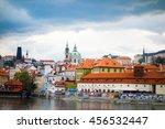 prague  czech republic   april... | Shutterstock . vector #456532447