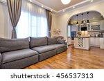kitchen living room | Shutterstock . vector #456537313