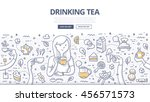 doodle vector illustration of a ... | Shutterstock .eps vector #456571573